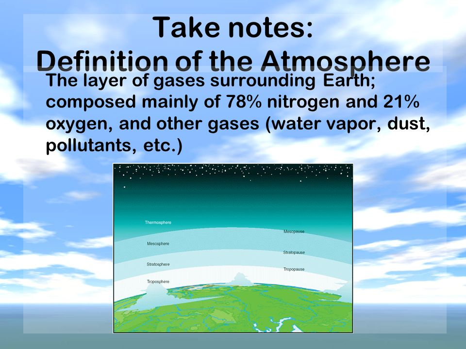 a study of the concentrations of oxygen and nitrogen on the atmosphere of the earth The ancient atmosphere and carbon and nitrogen in the for concentrations of a rare earth metal early earth that set the stage for life on.