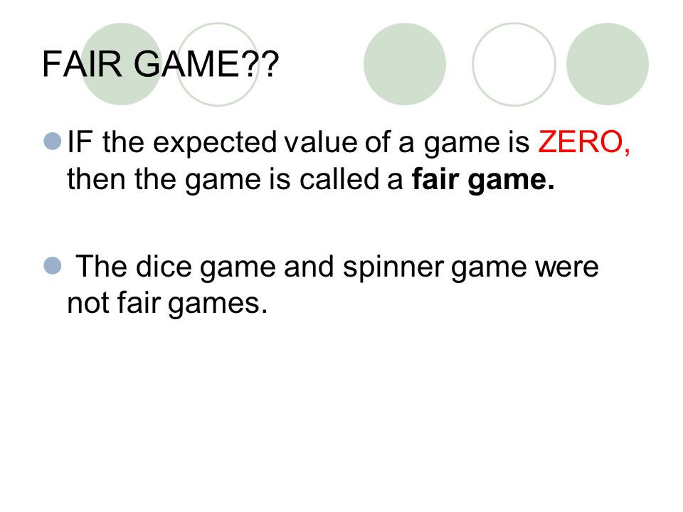 how to find expected value of a spinner