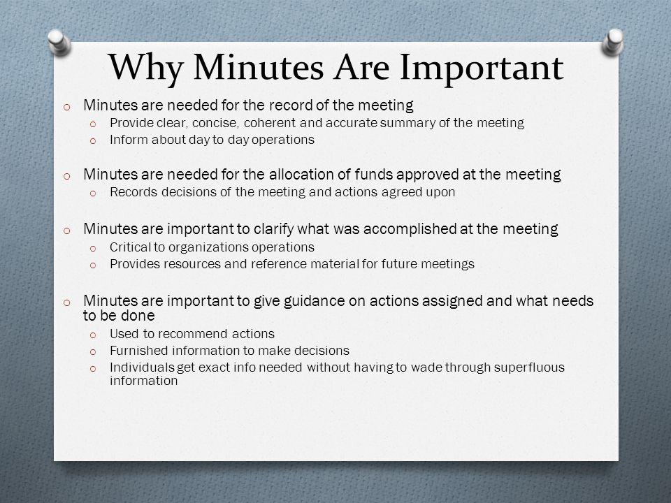 meeting minutes workshop