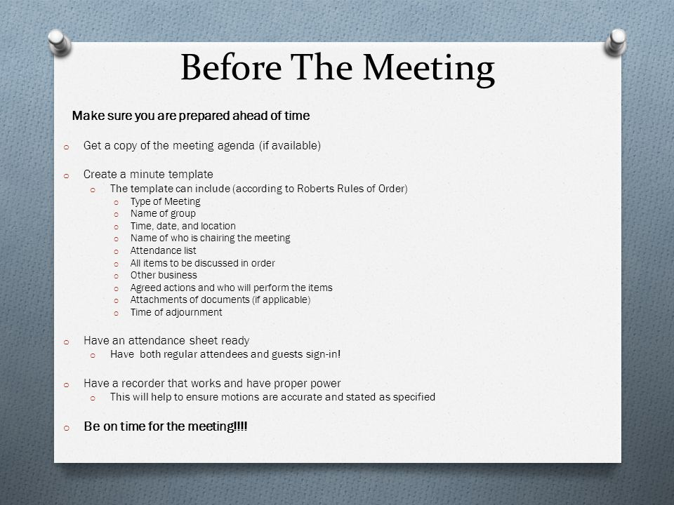 how to create meeting minutes
