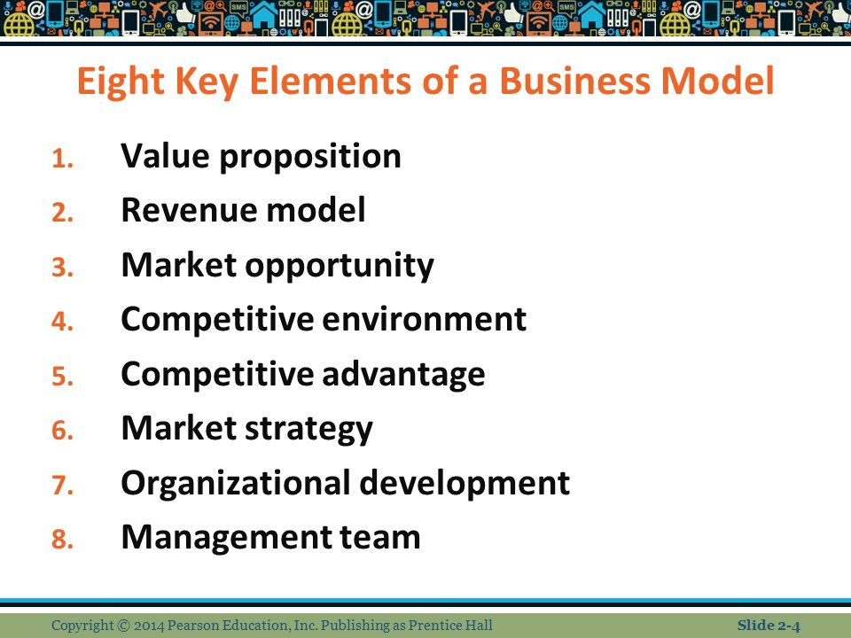 The 8 key elements of a business model marketing essay