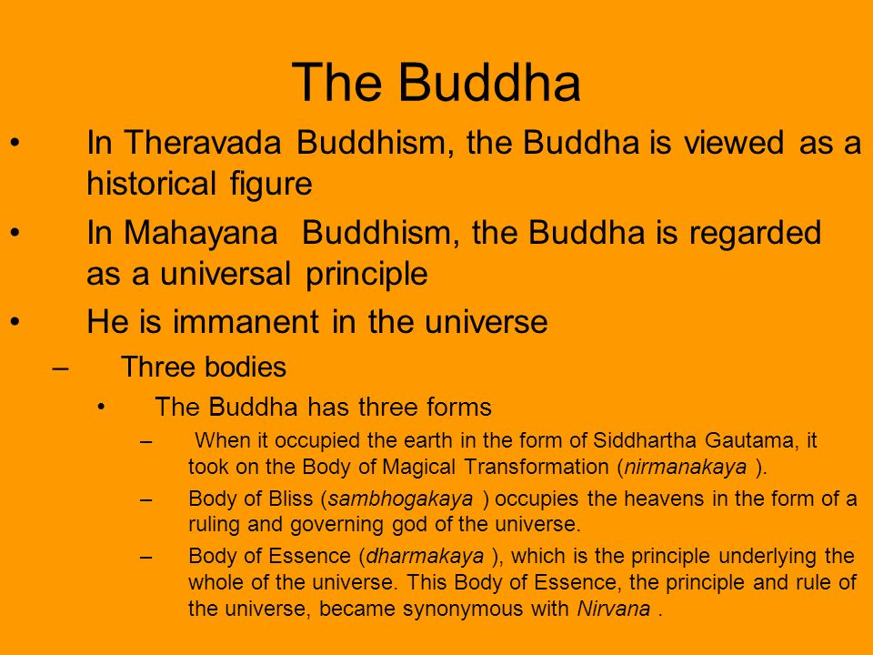 Theravada and Mahayana Buddhism - ppt video online download