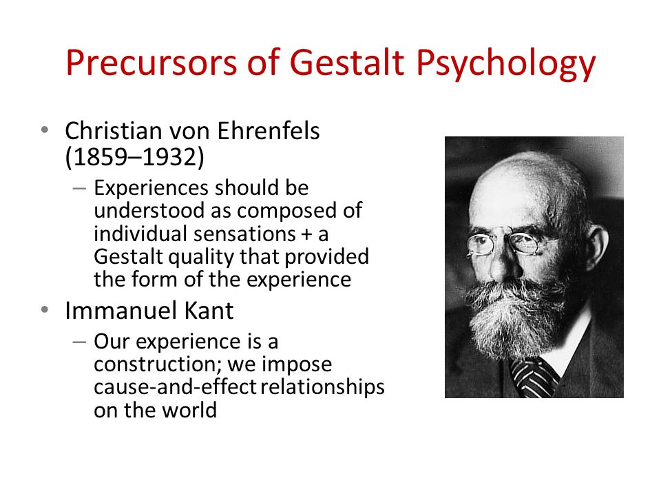 gestaslt psychology Gestalt psychology definition is - the study of perception and behavior from the standpoint of an individual's response to configurational wholes with stress on the uniformity of psychological and physiological events and rejection of analysis into discrete events of stimulus, percept, and response.