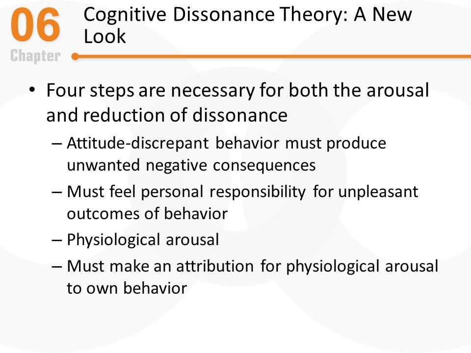 "reduction of cognitive dissonance in smokers And the theory of cognitive dissonance, will be used as a framework when testing  ""negative attitudes and reductions in smoking were expected to be greatest."