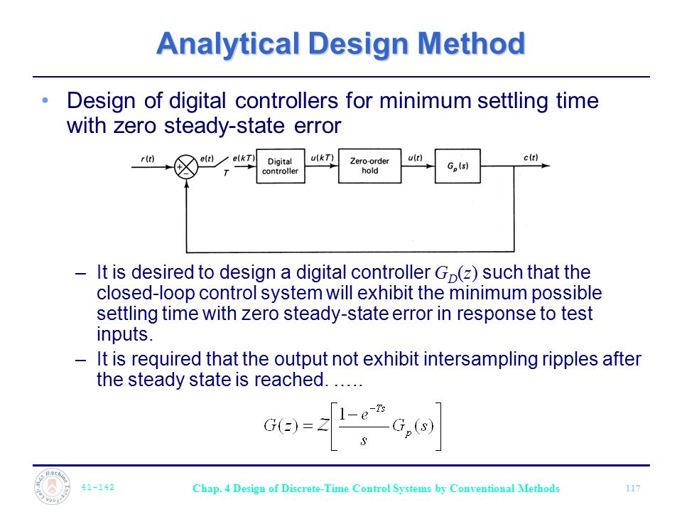Analytical Design Method