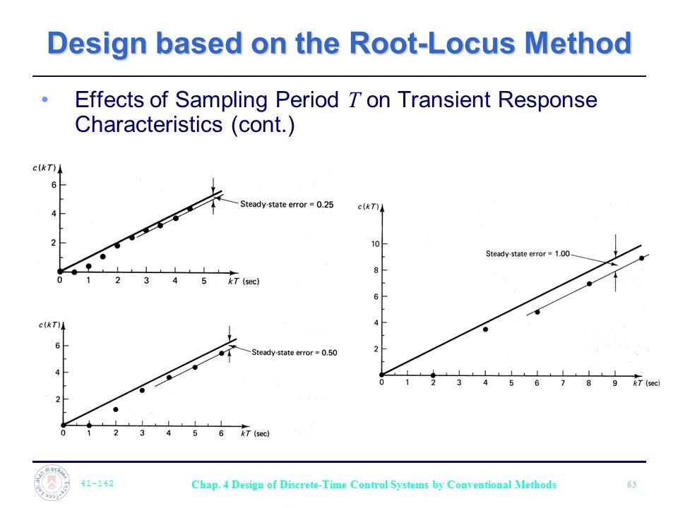 Design based on the Root-Locus Method