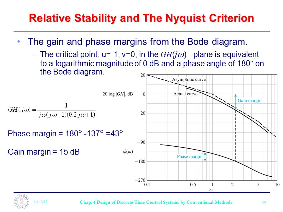 Relative Stability and The Nyquist Criterion