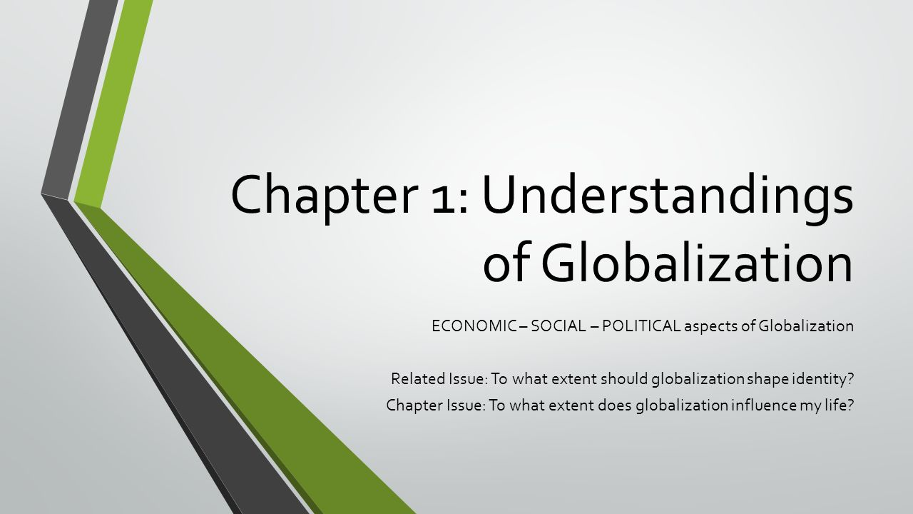 to what extent should globalization shape identity essay To what extent should globalization shape identity i used to think that globalization hadn't really started to have a big impact on the identities of canadians or myself.