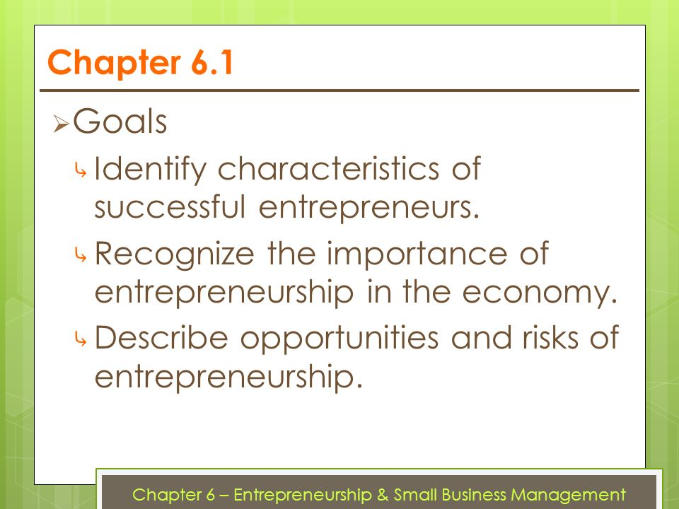 the importance of entrepreneurship and small business Entrepreneurship and small business research, from 2009 renamed global award for entrepreneurship research the authors take full responsibility for the results and the analyses presented in this report  europe to cope with the increasing importance of new asian markets.