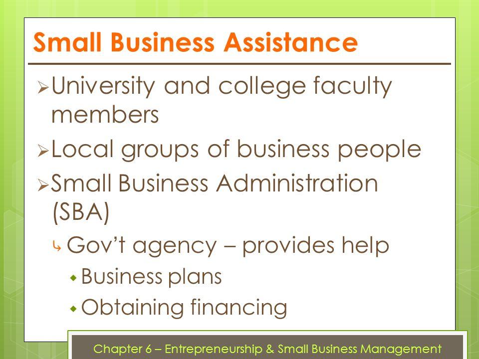 principle of business sba odeen