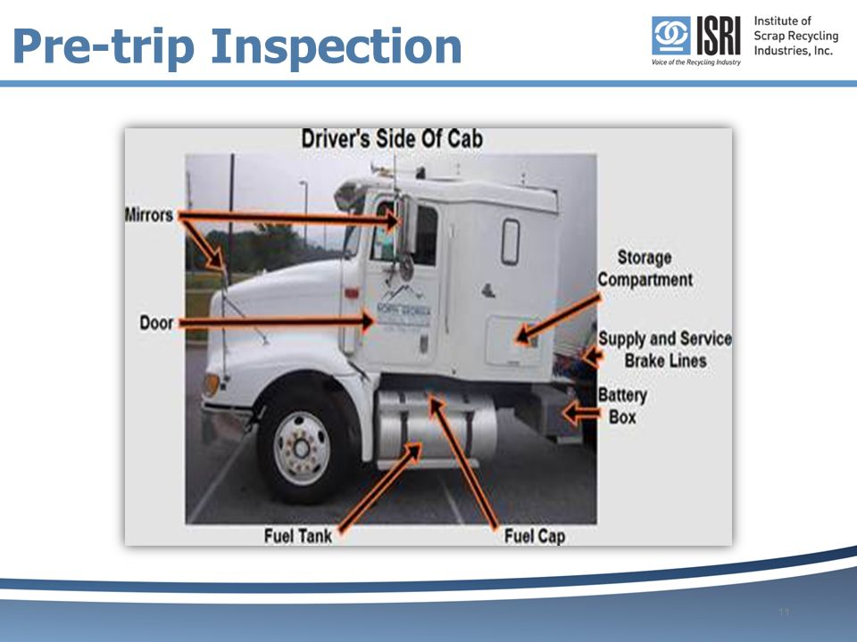 Pre Trip Inspection Guide Ppt Video Online Download