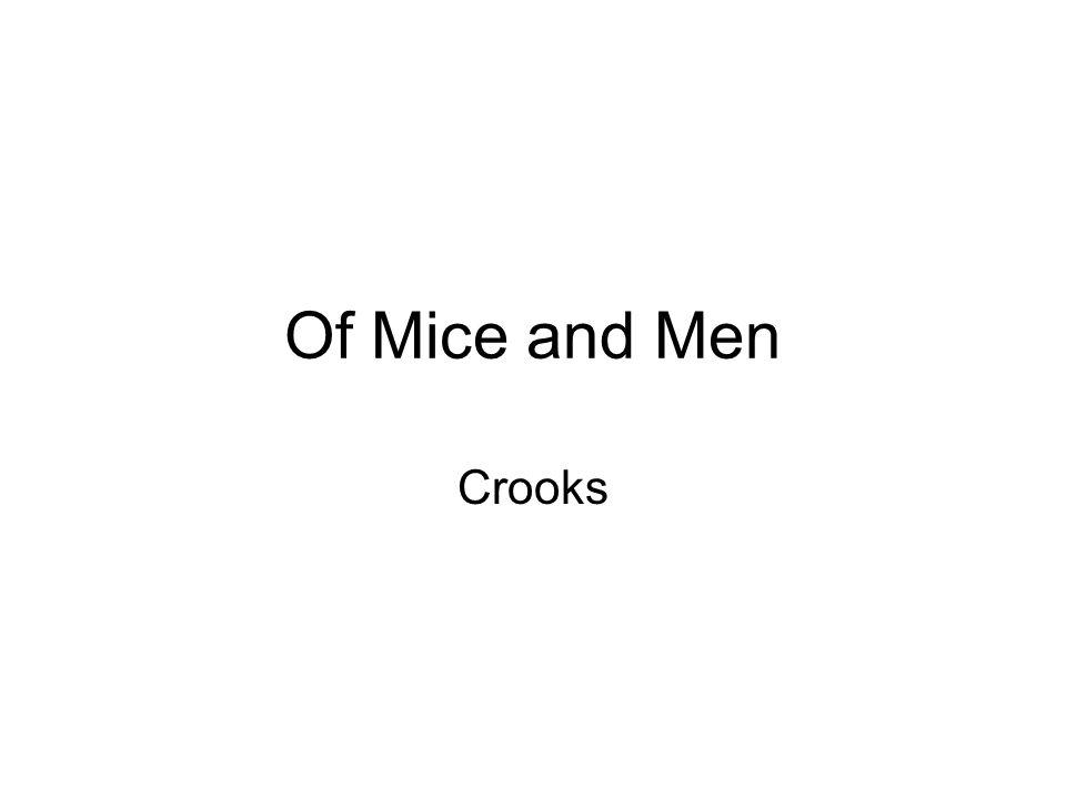 of mice and men pee on crooks essay