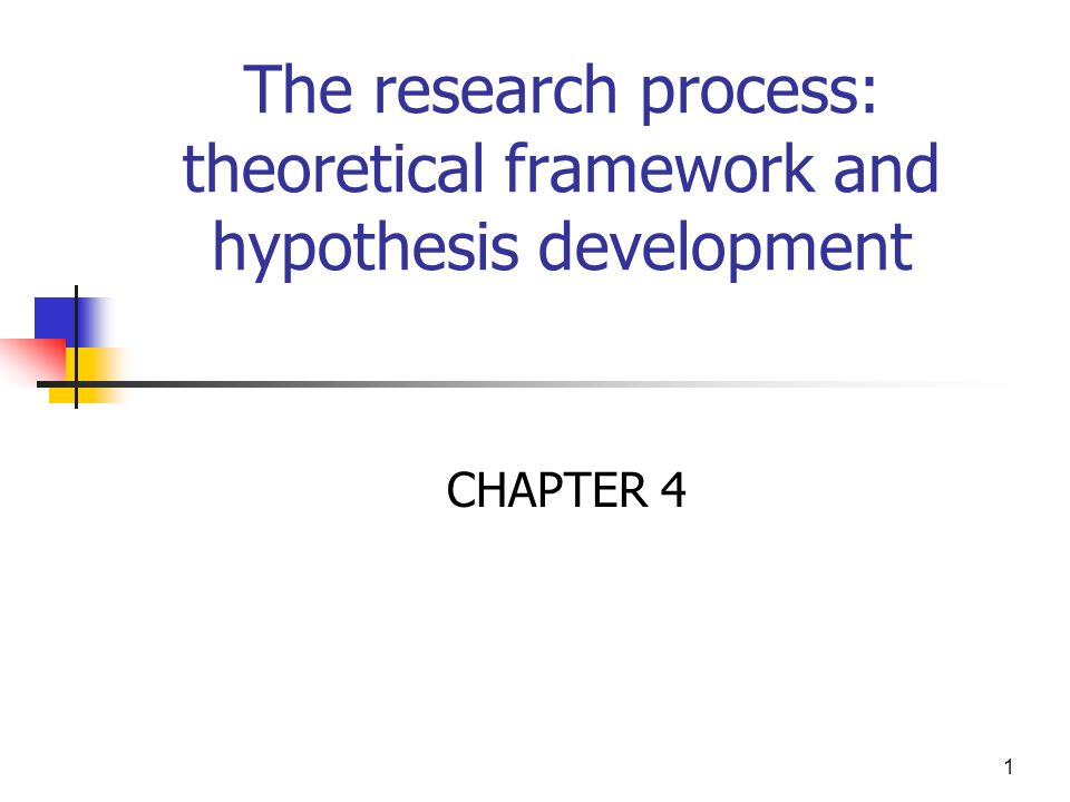 how to develop theoretical framework in research