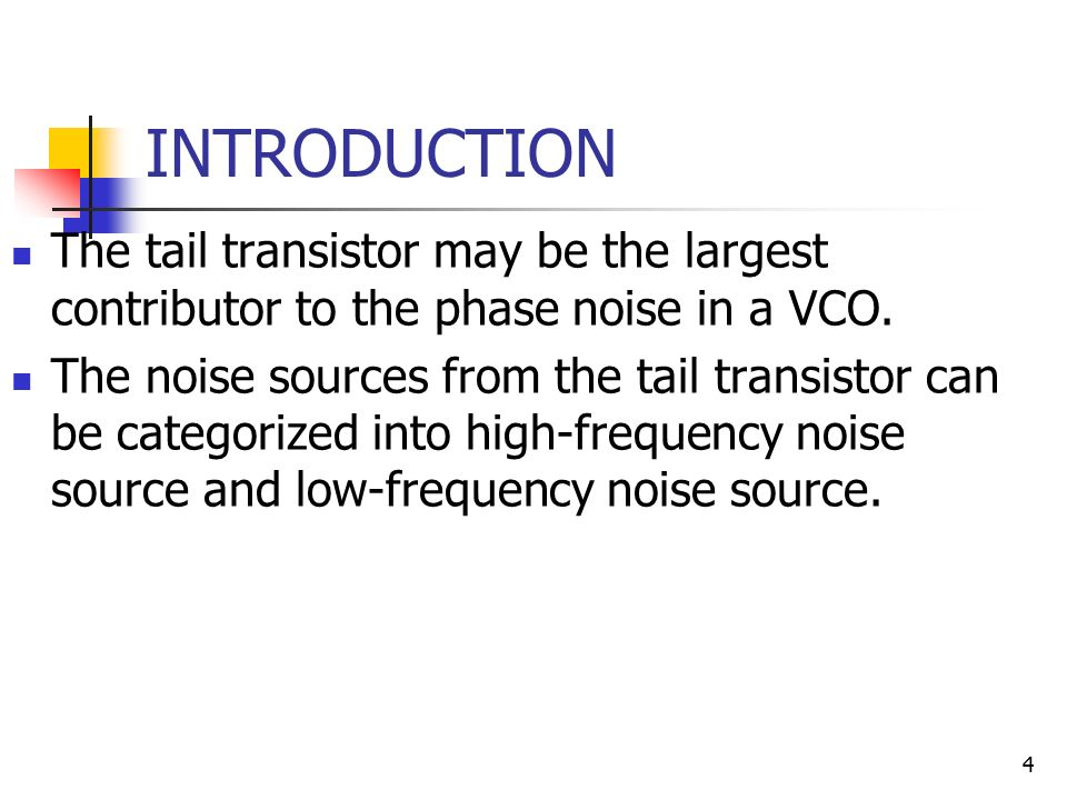 sources of noise in transistor Noise reduction in transistor oscillators: part 3—noise shifting techniques by andrei grebennikov  the major noise source at offset frequencies less than 3.