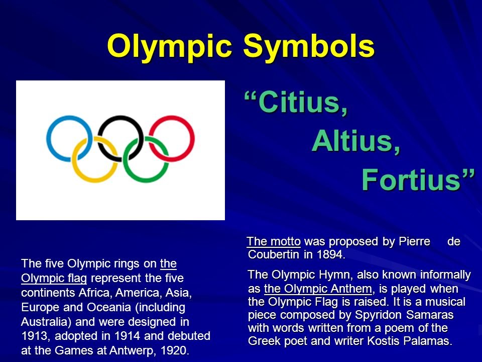 the representation of olympic experience in the olympic rings