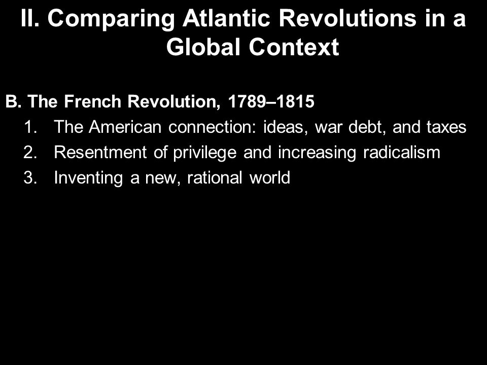 comparing the haitian to the french Comparing the american, french and haitian revolutions by victoria stempel the american, french, and haitian revoluti.