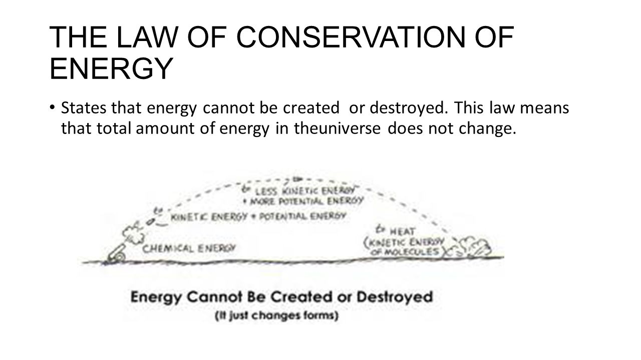 the conservation law Conservation laws are important throughout science besides those that are built  into the fabric of physics, such as conservation of energy and.