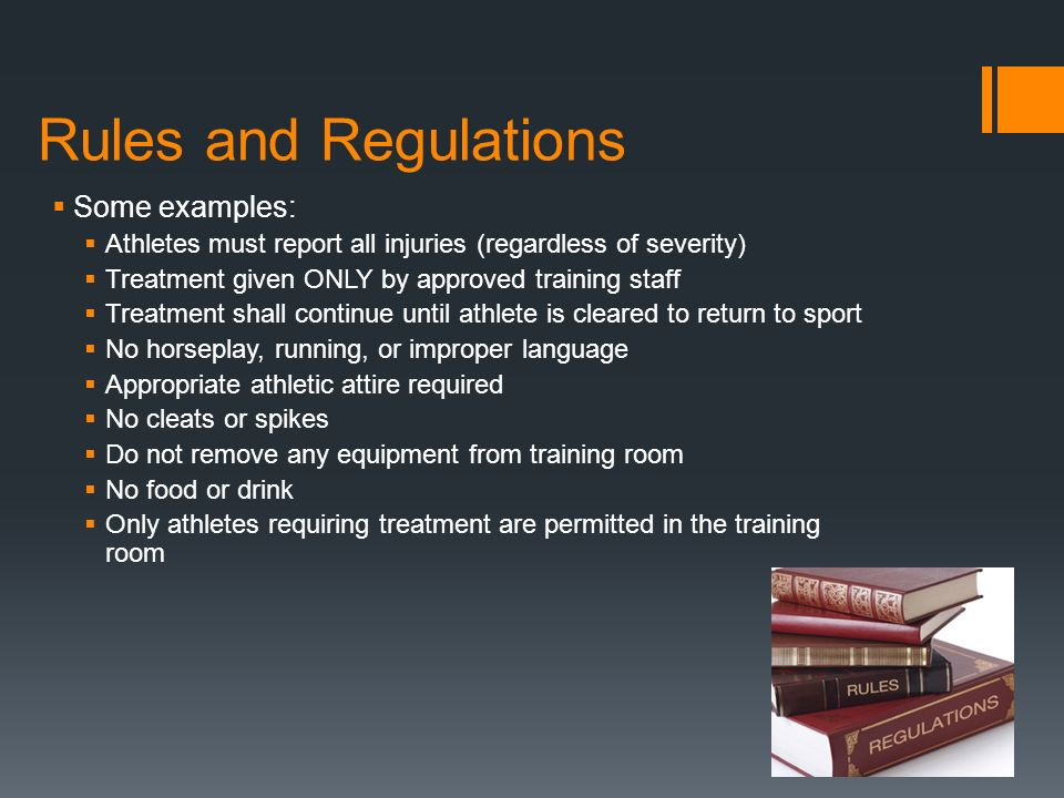 The athletic training room ppt video online download