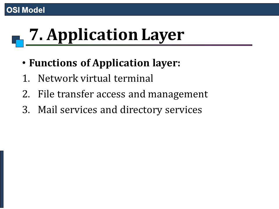 osi reference model layers pdf