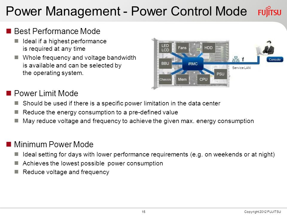 Power Management - Power Control Mode
