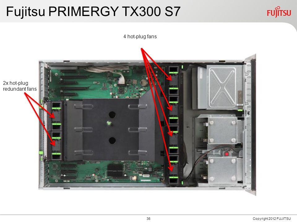 Fujitsu PRIMERGY TX300 S7 24 DIMMs DDR3 9x PCI slots plus 1x Mod RAID