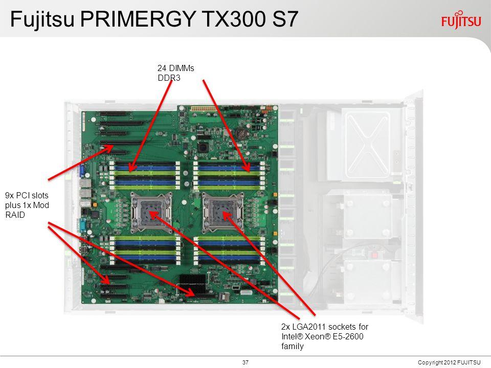 Fujitsu PRIMERGY TX150 S8 PRIMERGY TX200 S7