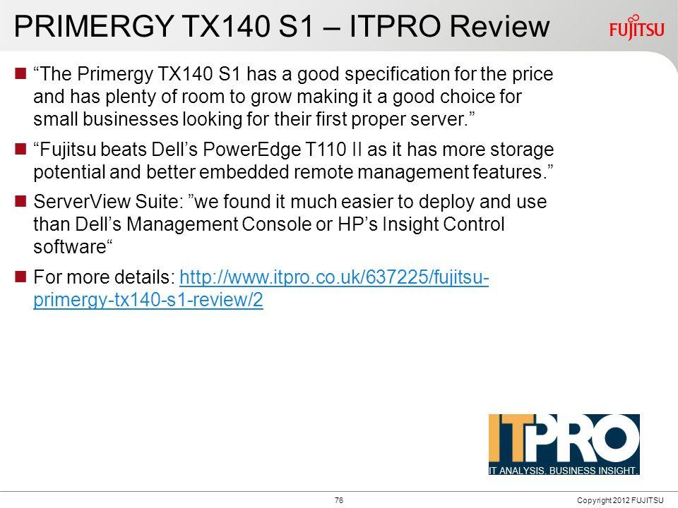 PRIMERGY TX120 S3p