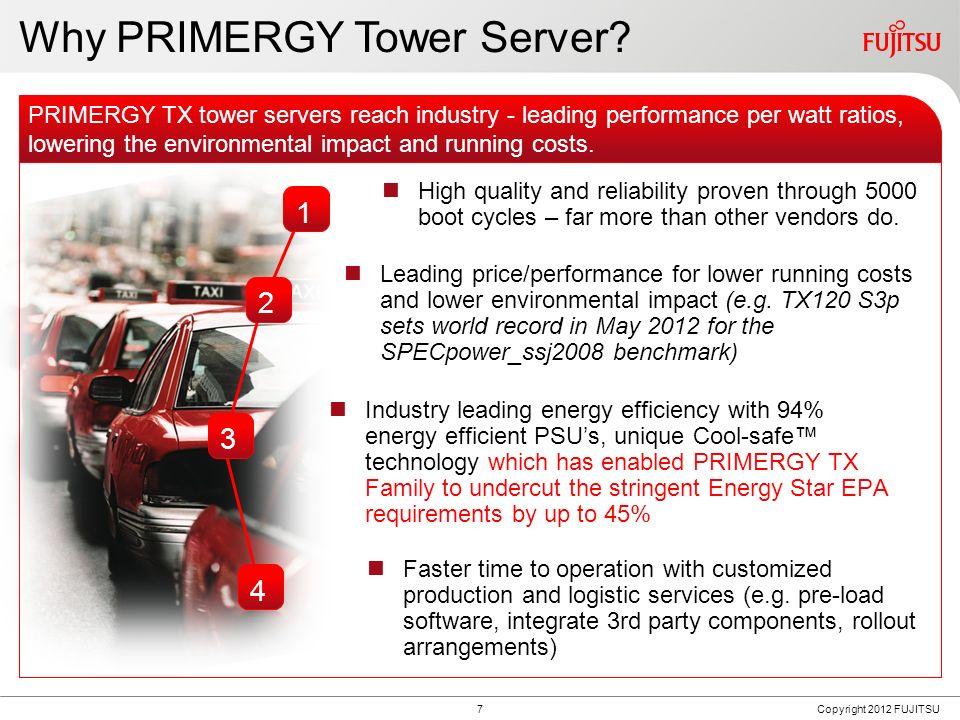 Fujitsu PRIMERGYОбщие черты