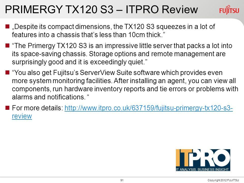 PRIMERGY TX100 S3p
