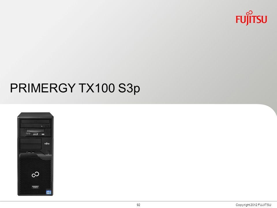 Fujitsu PRIMERGY TX100 S3p Usage Scenarios