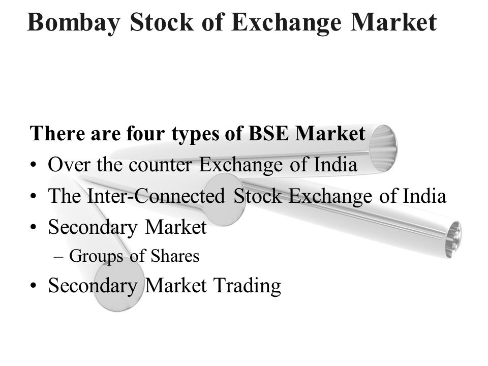 Bombay Stock of Exchange Market
