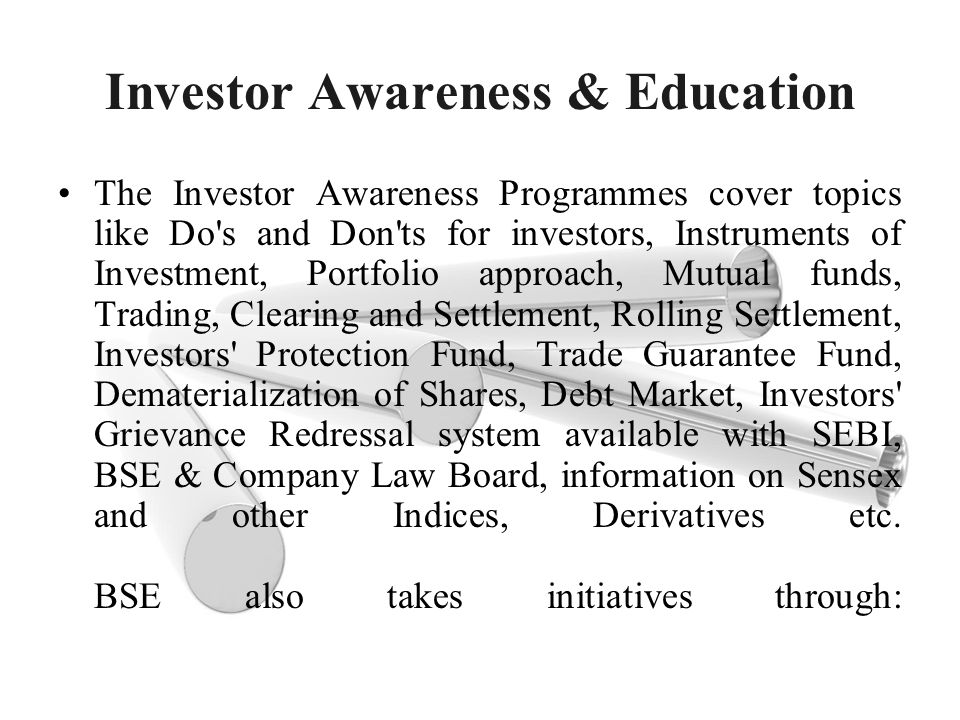 Investor Awareness & Education