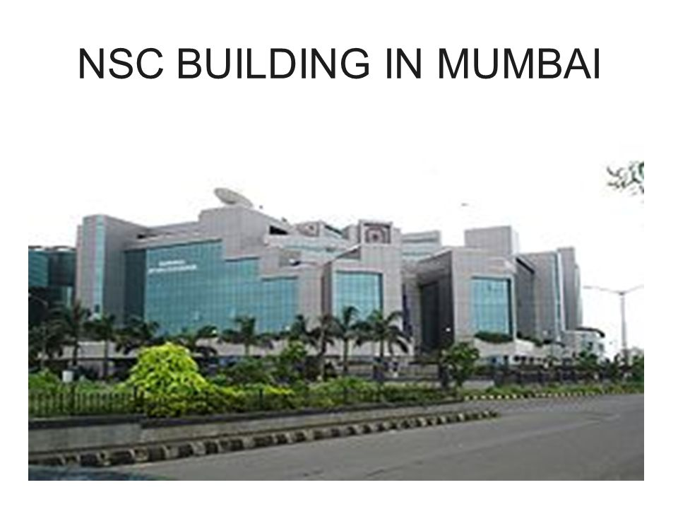 NSC BUILDING IN MUMBAI