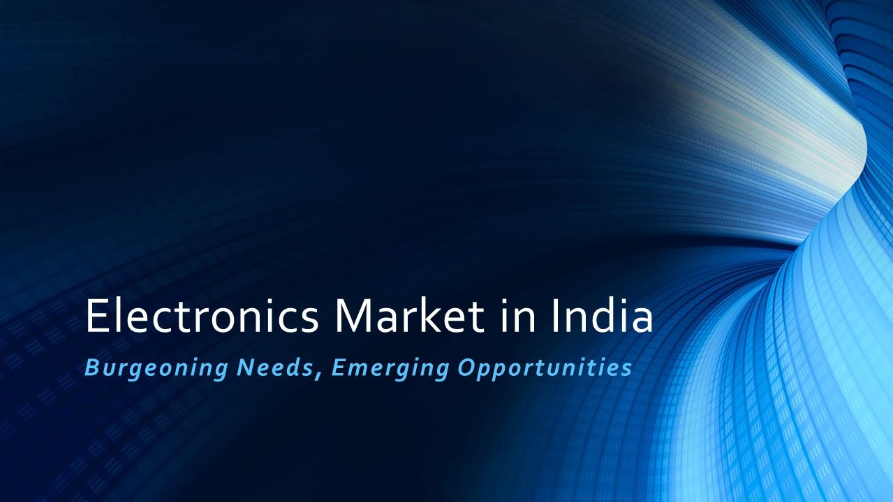 Electronics Market in India