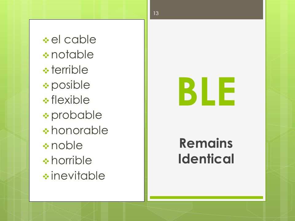 BLE Remains Identical el cable notable terrible posible flexible