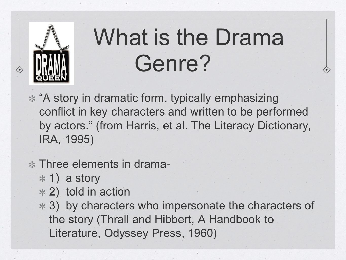 Drama Elements English ppt video online download