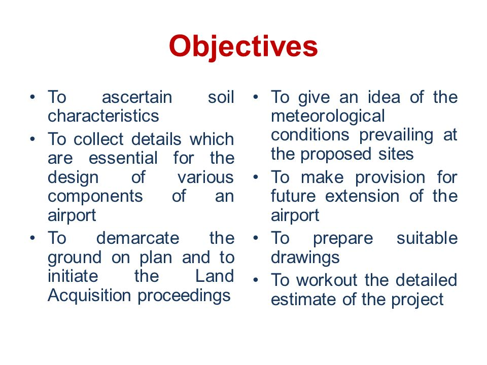Airport surveys ppt video online download for What are soil characteristics