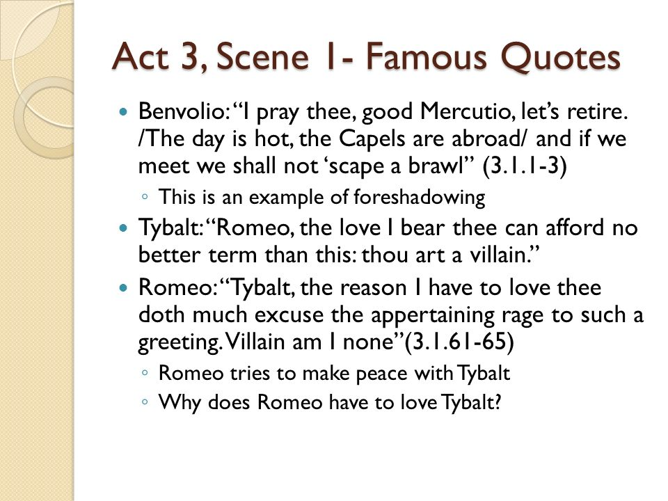 romeo and juliet gcse essay act 3 scene 1 Romeo and juliet – act 3 scene 1 the scene can be clearly split into six sections  the first contains mercutio talking to benvolio, winding him.