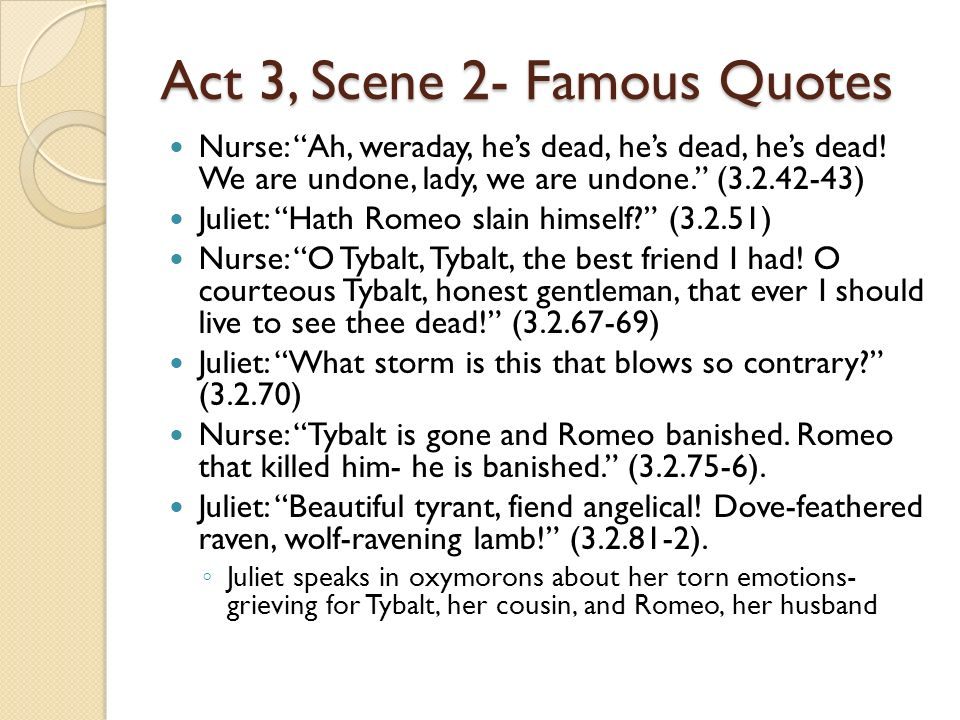 Romeo And Juliet Death Scene Lines