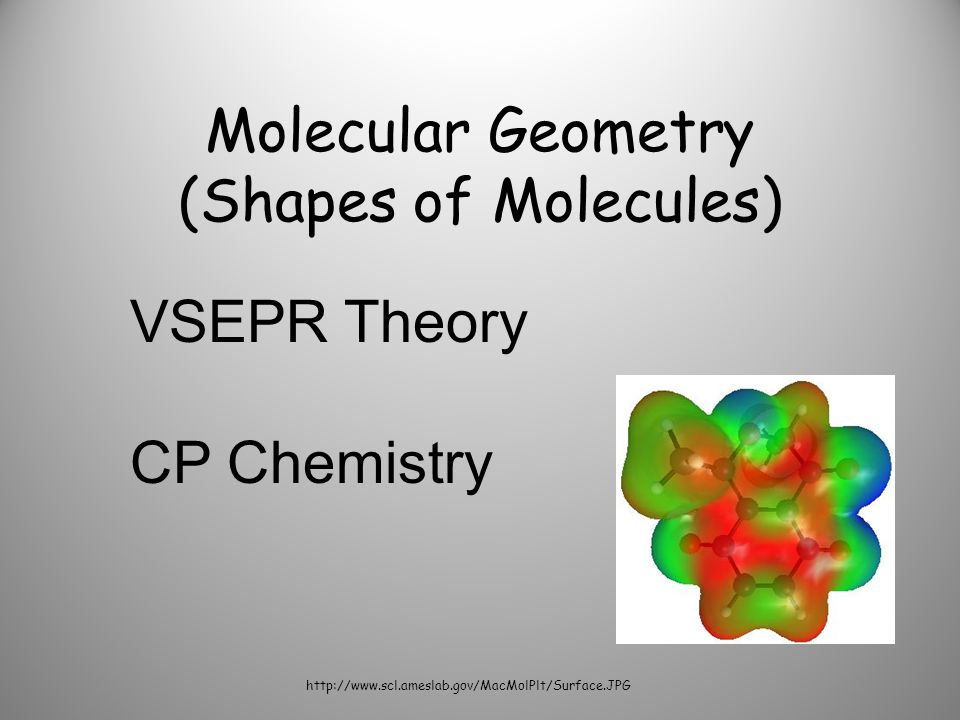 Molecular Geometry (Shapes of Molecules)