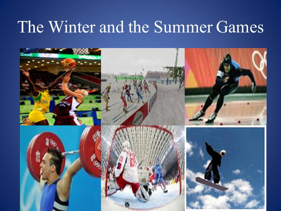 The Winter and the Summer Games