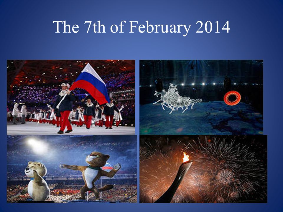 The 7th of February 2014
