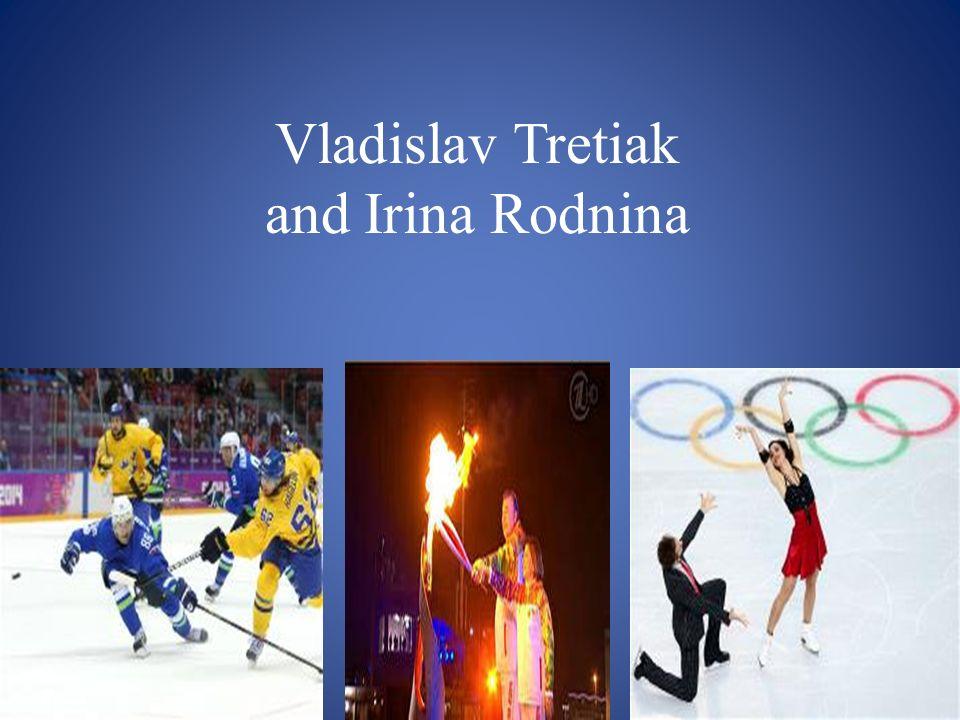 Vladislav Tretiak and Irina Rodnina