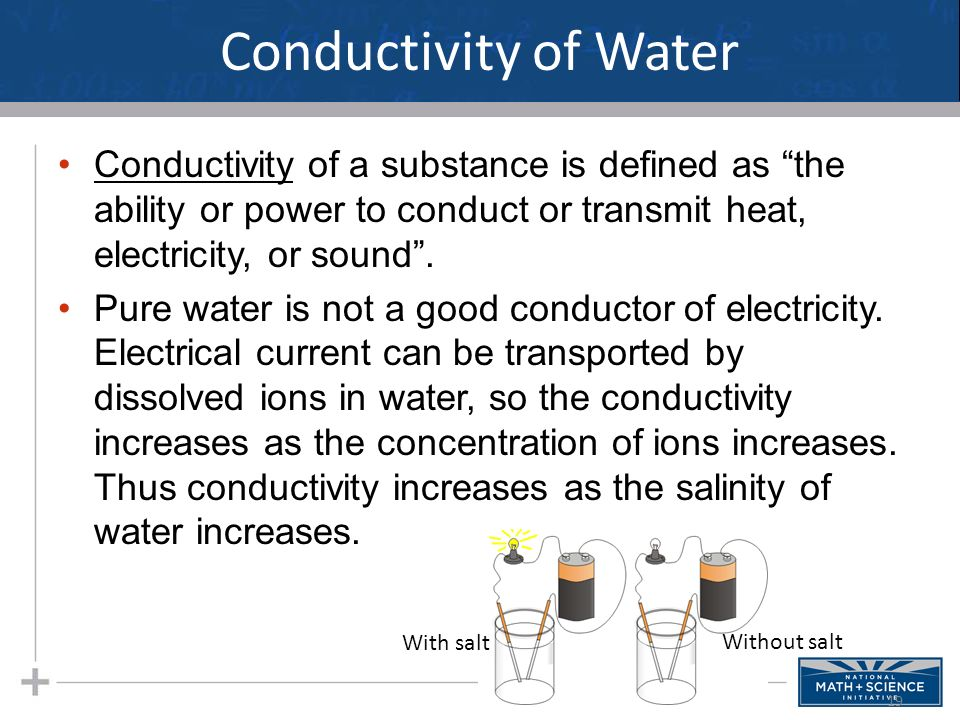 Conductivity Of Water : Unique water properties ppt download