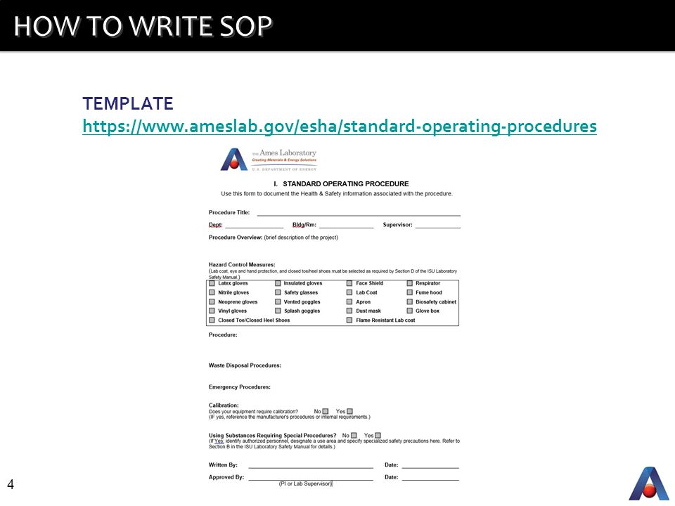 Video sops how to write