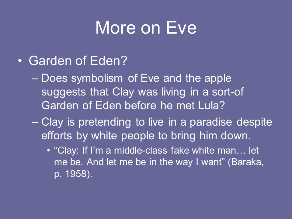 Literary Analysis Of Symbols In Amiri Barakas Dutchman Ppt Video