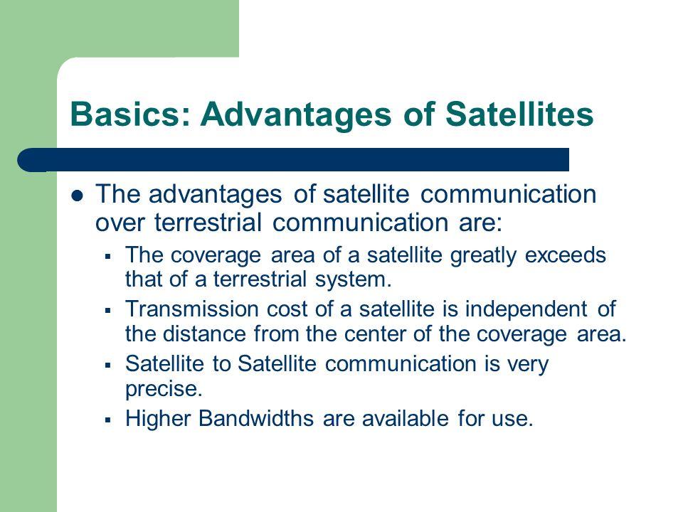 advantages of satellite communication pdf