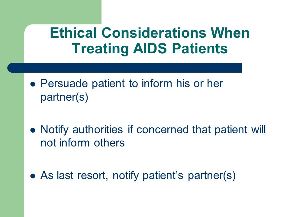 ethics aids patients Essay on ethics aids patients 1000 words dec 22nd, 2010 4 pages 1 can he  refuse to assist in this procedure the dental assistant cannot refuse to assist in.