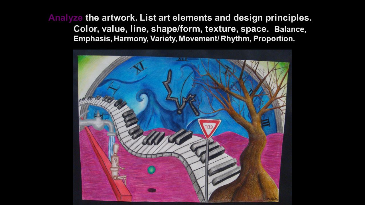Art Elements And Principles List : Art criticism process objective you will describe
