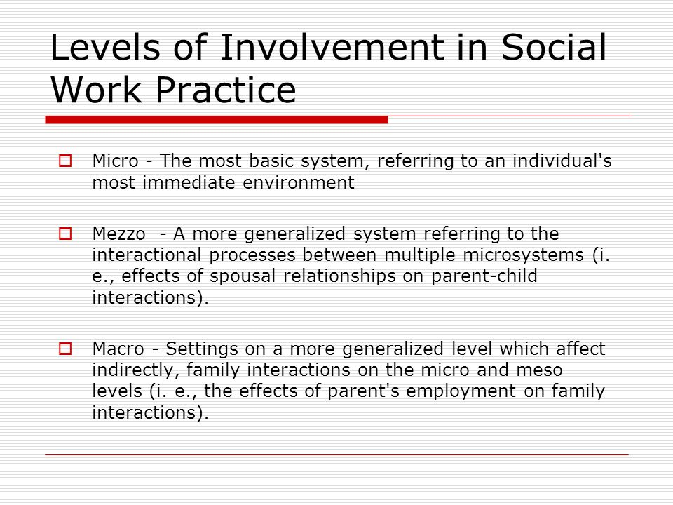 "explain an individual s involvement in multiple social systems micro mezzo and macro at work in the  And structural ones) may explain social processes: ""by referring to structures and mechanisms that are embodied at a level ""exist prior to the interaction of individuals filling these positions"" [udehn 2001 305] and produce important meso-level mechanisms work only through micro-level processes and even a sympa."
